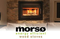 Morso US, LLC. – 5660 Wood Stove Fireplace Insert Wood, Future House, House, Wood Fireplace, Wood Fireplace Inserts, Home Decor, Industrial Buildings, Fireplace, Fireplace Inserts