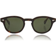 d34b4b1f19b Moscot Tortoiseshell Lemtosh Sunglasses ( 345) ❤ liked on Polyvore  featuring accessories