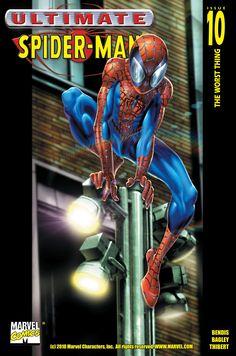 #Ultimate #Spiderman #Fan #Art. (Ultimate Spider-Man Vol.1 #10 Digital Cover) Mark Bagley. ÅWESOMENESS!!!™ ÅÅÅ+ (Ü MUST ZOOM! WOW!)