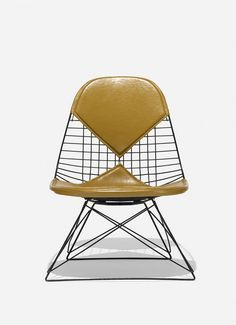 Charles and Ray Eames; Enameled Metal LKR-2 Chair for Herman Miller, 1951.
