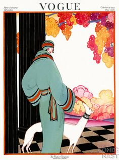 Vogue 1922, October. Vintage Vogue covers #vintage #vogue #covers