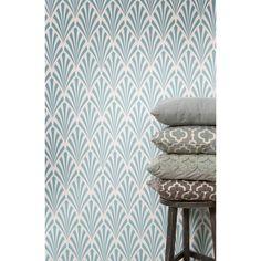 Match de print van je kussens met het behang! #kussen #accessoires #wonen #decoratie #interieur #interior #behang #kwantum