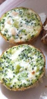 The Dukan Dietress: Mini Chicken and Broccoli Quiches   Tartitas de pollo y brócoli