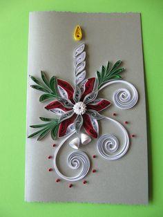 Handgemachte Weihnachten Grußkarte