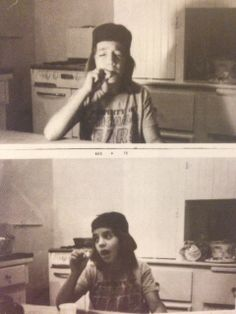 Anthony Kiedis smoking his first joint, aged 11. It is a bit scary...