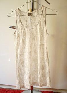 A vendre sur #vinted ! http://www.vinted.fr/femme/debardeurs/10280106-debardeur-en-dentelle-blanc-pull-bear