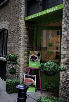 tea shop in london!