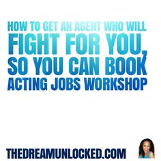 Sign-up for the 6 week Star-Maker Challenge to Find Out @www.TheDreamUnLocked.com #acting #thedreamunlocked