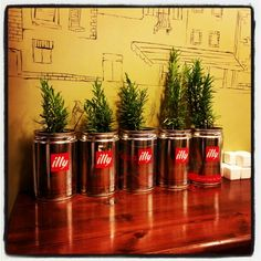 How to re-use your illy coffee can #illy #illylovers