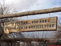 """""""So True! If you eat…you are involved in agriculture! Country Life, Country Living, Agriculture Facts, Hog Farm, Agricultural Science, Animal Science, Farmer's Daughter, Fresh Milk, Down On The Farm"""