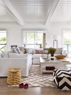 6th Street Design School | Kirsten Krason Interiors : Living Room & Dining Room Before & After