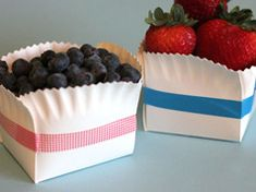 Paper plate baskets in Ideas for planning, organizing and decorating babies, kids and adults parties