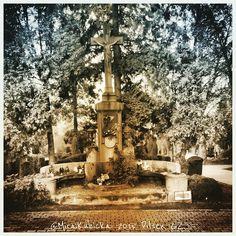 Pilsen Czech Republic #cemetery #sculpture #statue #art #architecture #history #heritage #saint #santa #jesus #tree #garden #plzen #plzeň #pilsen #cz #czech #czechia #czechrepublic #české #česko #českárepublika #world #2015 #city #stone
