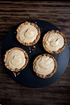 Butterscotch Pudding Tarts. Basically my dream.