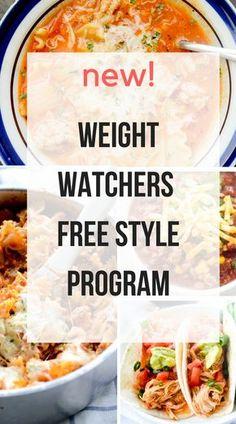 New Weight Watchers Free Style Program – Recipe Diaries