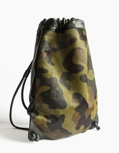 Red Label Henten Calf Hair. RLHB/10 This limited edition is made out of premium calf hair Camouflage print combined with black grained leather. Completely handcrafted in Spain with the best quality leather by the most experienced and skilled artisans. www.thehentenbag.com