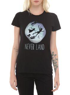 Disney Peter Pan Never Land Girls T-Shirt | Hot Topic