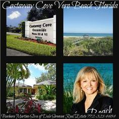 Castaway Cove Island Homes With Beach Access - Vero Beach, FL real estate.  You will find a nice variety of homes and prices in this gated single family community.  http://www.VeroPremierProperties.com
