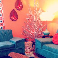 Oh So Lovely Vintage: An Atomic Christmas at the Hieberts!