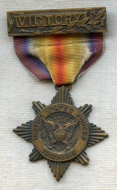 WWI Service Medal from St. Joseph County, Indiana