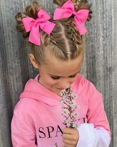 girl hairstyles for school \ girl hairstyles . girl hairstyles for school . girl hairstyles for weddings . Girls Hairdos, Baby Girl Hairstyles, Trendy Hairstyles, Cute Hairstyles For Toddlers, Hair Girls, Cute Little Girl Hairstyles, Hairdos For Little Girls, Cute Girl Hair, Braids For Girls