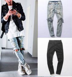 Super baratas precios baratass muy baratas Las 15 mejores imágenes de Pantalones rotos para hombre ...