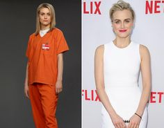 Taylor Schilling as Piper Chapman on 'Orange is the New Black.'