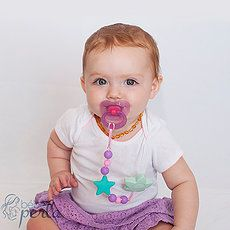 Click here to view our entire collection of Pacifier Clips on www.bebeperla.com.