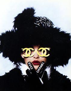 Chanel F/W 1994 Photographer : Karl Lagerfeld Model : Trish Goff