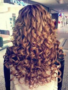 Soft spiral curls