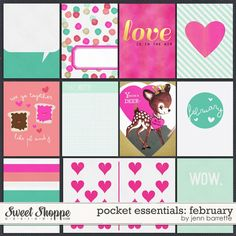 Pocket Essentials: February by Jenn Barrette