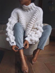 cozy winter outfits - casual fall outfit, winter o - winteroutfits Street Style Boho, Looks Street Style, Looks Style, Casual Fall Outfits, Fall Winter Outfits, Autumn Winter Fashion, Winter Clothes, Winter Wear, Hipster Outfits Winter