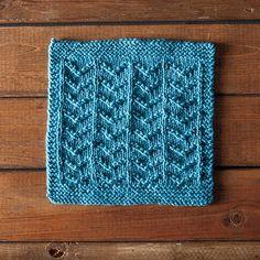 Ripples Dishcloth - Knitting Patterns and Crochet Patterns from KnitPicks.com