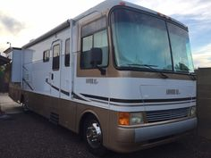 Check out this 2003 Holiday Rambler Admiral 36DBD listing in Glendale, AZ 85306 on RVtrader.com. It is a Class A and is for sale at $32000.