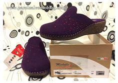 Calzature Michelle qualità Made in Italy per calzature e pantofole da uomo, donna e bambino, realizzate con materie prime naturali. Qualità italiana.