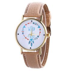 MJARTORIA Women Leather Strap Sport Watch Fashion Ladies Clock Bracelet Watch Female Wristwatch Hand WristWatch Quartz Watch - Online Shopping for Watches