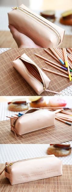 Personalised Leather Pencil Case                                                                                                                                                      More