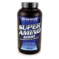 Super Amino 6000 Extended Release Formula, 500 Cplts AED362.00