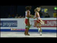 ORIGINAL Dance RUS Domnina Shabalin - 21/01/2010 ISU European Figure Skating Chmpnshps Tallinn