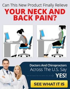 Get Perfect Neck & Back Support Today!   http://dld.bz/fge2y