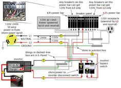 9 best rv wiring diagrams images campers camper trailers caravan rh pinterest com