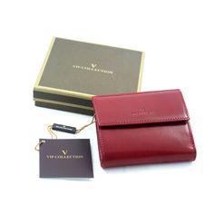 c85c01aab8baa Mały, damski portfel VIP Collection V04-01-171-30, skóra