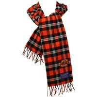 I want this! .COM - Oklahoma State University - PENDLETON OSU PLAID MUFFLER