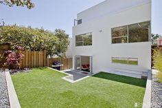 Backyard and facade