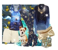 """""""DON'T CHEW MY SHOES! Take me to your leader"""" by lisalovesshoes ❤ liked on Polyvore featuring Ted Baker, Diane Von Furstenberg, Emilio Pucci, New Look, Blue Nile, Michael Kors and Caleidoscopio"""