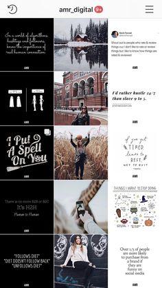 Designed by AMR Digital Marketing. Full service so Instagram Feed Planner, Instagram Feed Ideas Posts, Instagram Feed Layout, Instagram Design, Muro Instagram, Flux Instagram, Instagram Grid, Grid Design, Web Design