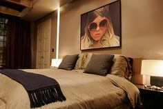 Gossip Girl # Blair Waldorf Room # Richard Philips Painting # Scout # Likey