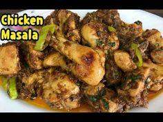 How To Make Unique Chicken Masala Recipe / Chicken Bhuna Recipe By Yasmi. Chicken Karahi, Chicken Masala, Recipe Chicken, Chicken Recipes, Karahi Recipe, Indian Chicken, Masala Recipe, Chicken Wings, Meat