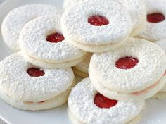 Fill these light sugar cookies with your favorite flavored jam and sprinkle on the confectioner's sugar.