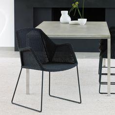 Breeze dining chair, black - Outdoor furniture - Outdoor - Finnish Design Shop